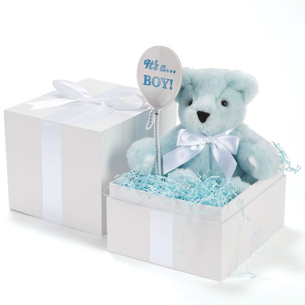 "11"" Gender Reveal Boy Bear image number 1"