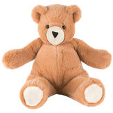 """18"""" Pocket Pal Bear - Front view of seated 18"""" ginger brown bear with pocket on the left chest and hidden pocket in the back image number 0"""