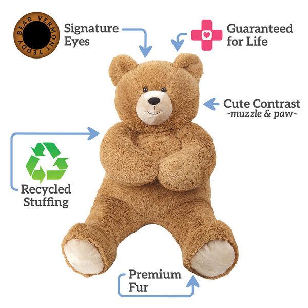 3' Hunka Love Bear with Class of 2021 Graduation Bow image number 1