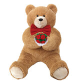 3' Hunka Love Bear with Bow Tie and Roses image number 0
