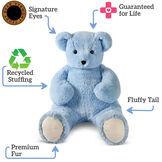 4' Light Blue Cuddle Bear image number 2