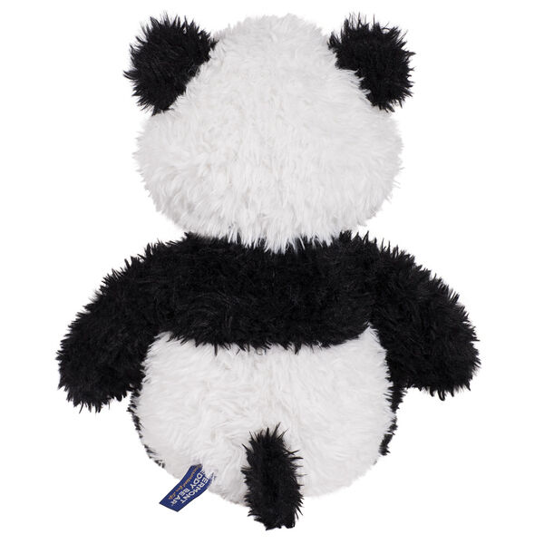 "18"" Oh So Soft Panda Bear - Back view of seated black and white 18"" Panda Bear with tail image number 5"