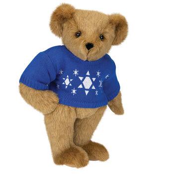 "15"" Chanukah Sweater Bear"