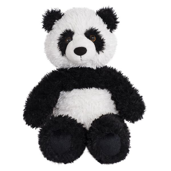 "18"" Oh So Soft Panda Bear - Front view of seated black and white 18"" Panda Bear with tail  image number 0"