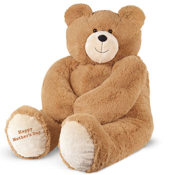 """4' """"Happy Mother's Day"""" Hunk Bear"""