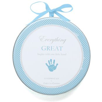Handprint Kit - Blue