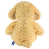 """18"""" Oh So Soft Puppy - Back view of seated tan 18"""" Puppy with tail and ivory foot pads image number 6"""