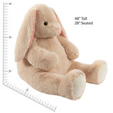 4' Cuddle Bunny image number 4