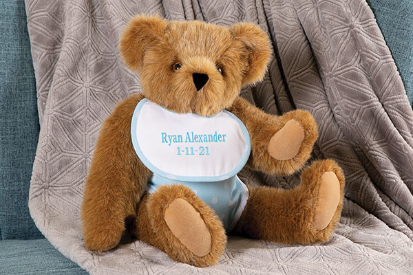 An image of the 15-inch Baby Boy Bear