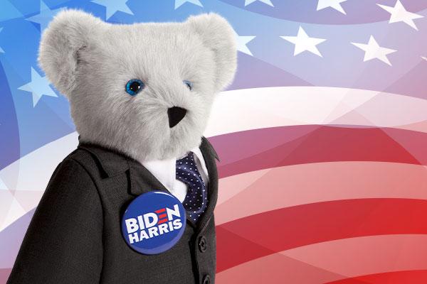 An image of the 15-inch Joe Biden Bear