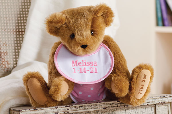 An image of the 15-inch Baby Girl Bear