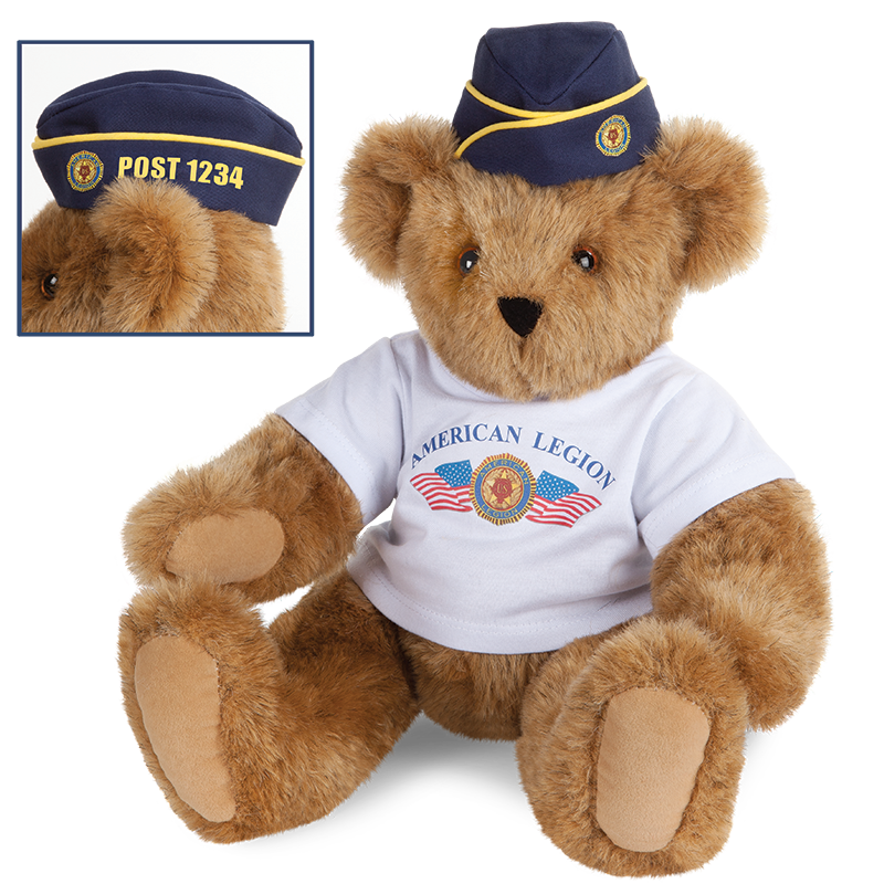 Image of the 15-inch American Legion Bear
