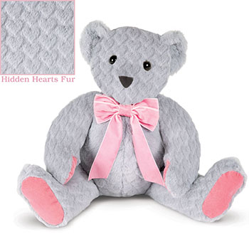 An image of the 20-inch Hidden Hearts Bear