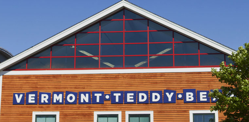 An image of the Vermont Teddy Bear factory