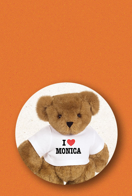 An image of the 15-inch I Heart You T-shirt Bear