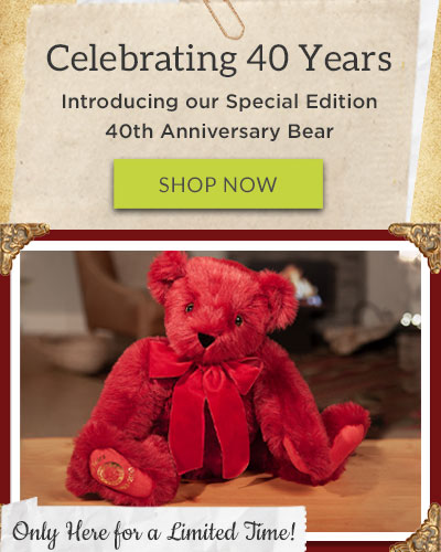 An image of the 20-inch Special Edition 40th Anniversary Bear
