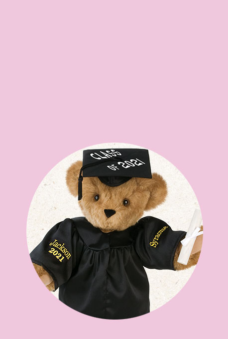 An image of the 15-inch Graduation bear