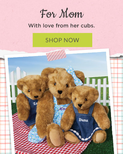 Personalised Bear Our First Mothers Day Kids 2021 Body Vest long sleeve Girl