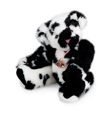 An image of the 15-inch Holstein Bear