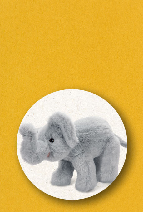 An image of the 15-inch Classic Elephant
