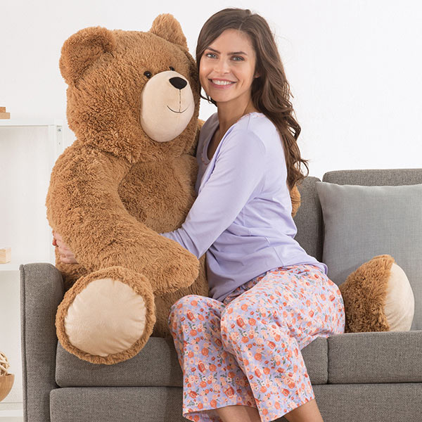An image of the Vermont Teddy Bear 4-foot Big Hunka Love Teddy Bear