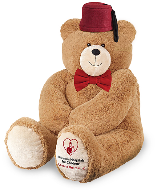Image of the 4-foot Love to the Rescue Bear