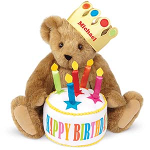An image of the 15-inch Happy Birthday Bear
