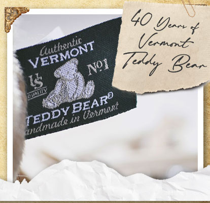 40 Years of Vermont Teddy Bear