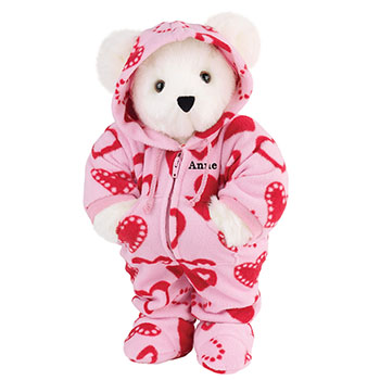 An image of the 15-inch Hoodie-Footie Sweetheart Bear