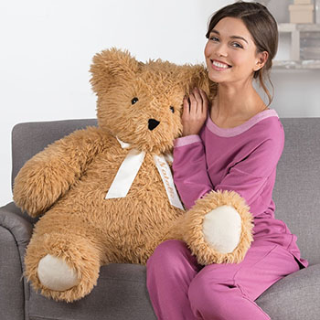 An image of the 3-foot World's Softest Bear